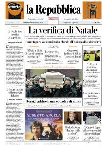 la Repubblica - 13 Dicembre 2020