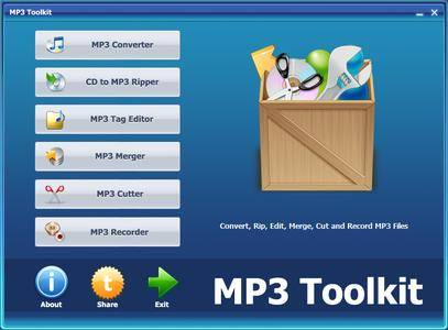 MP3 Toolkit 1.6.0 Portable