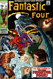 Fantastic Four 094 1970 HD