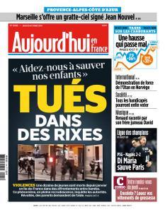 Aujourd'hui en France du Jeudi 25 Octobre 2018