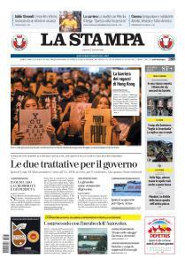 La Stampa Milano - 17 Agosto 2019
