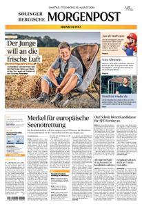 Solinger Morgenpost – 17. August 2019