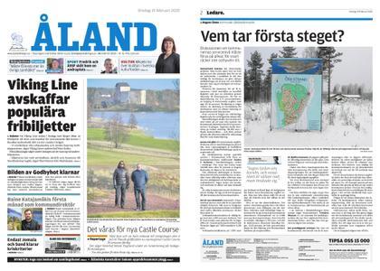 Ålandstidningen – 19 februari 2020