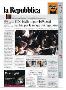 la Repubblica - 9 Dicembre 2018