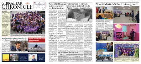 Gibraltar Chronicle – 22 September 2021
