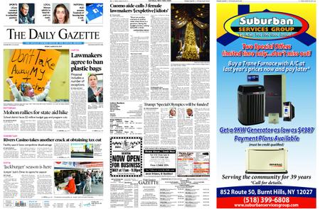 The Daily Gazette – March 29, 2019