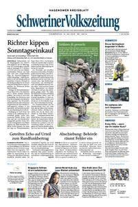 Schweriner Volkszeitung Hagenower Kreisblatt - 19. Juli 2018