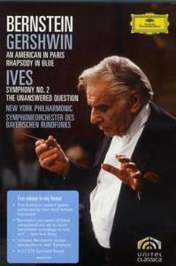 Leonard Bernstein - Gershwin: An American in Paris; Rhapsody in Blu; Ives: Symphony No.2 (2008/1976)