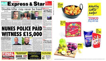 Express and Star Sandwell Edition – October 05, 2017