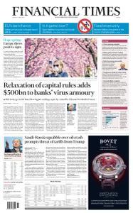 Financial Times Europe - April 6, 2020