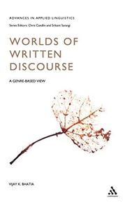 Worlds of Written Discourse (Advances in Applied Linguistics)