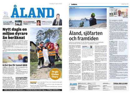 Ålandstidningen – 29 april 2020