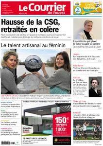 Le Courrier de l'Ouest Angers - 09 mars 2018