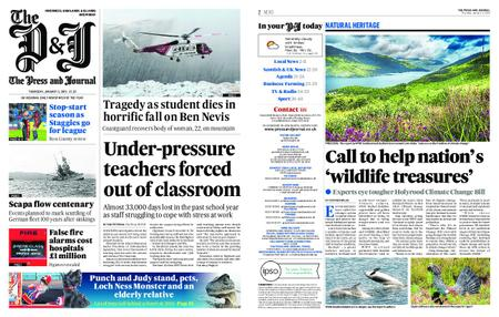 The Press and Journal Moray – January 03, 2019