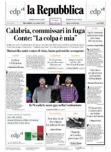 la Repubblica - 18 Novembre 2020