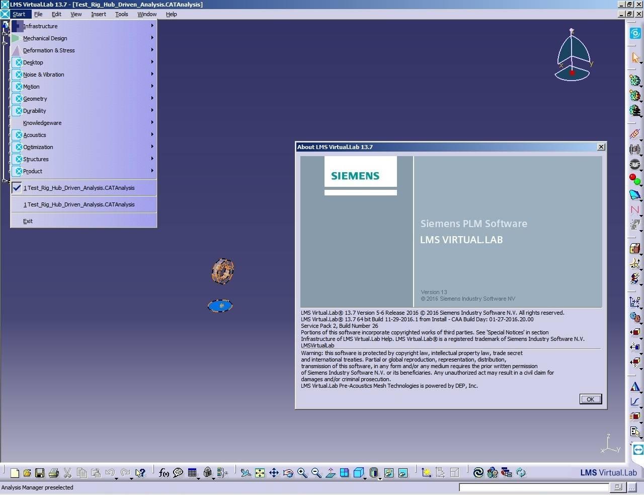 Siemens LMS Virtual.Lab Rev 13.7