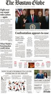 The Boston Globe – 09 January 2020