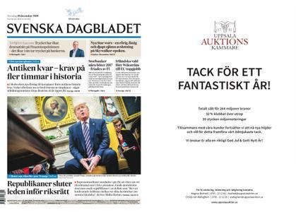 Svenska Dagbladet – 19 december 2019