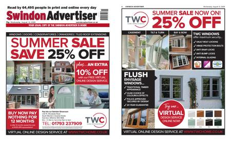 Swindon Advertiser – August 12, 2020