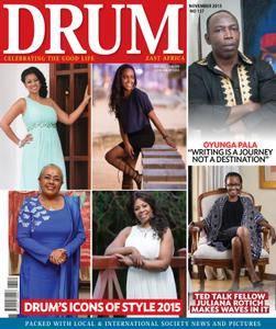 Drum East Africa - November 2015