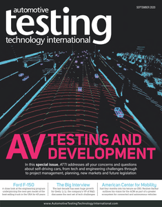 Automotive Testing Technology International - September 2020