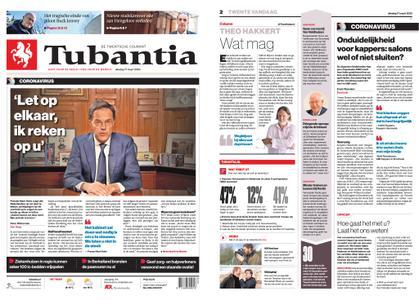 Tubantia - Enschede – 17 maart 2020