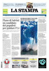 La Stampa Imperia e Sanremo - 8 Ottobre 2018
