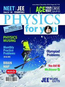 Physics For You - December 2016