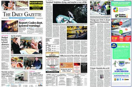 The Daily Gazette – April 03, 2018