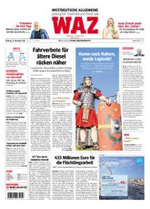 WAZ Westdeutsche Allgemeine Zeitung Oberhausen-Sterkrade - 21. November 2018