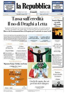 la Repubblica - 21 Maggio 2021