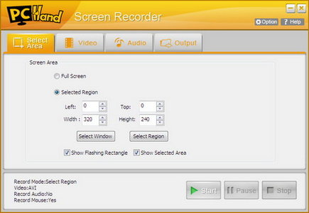 PCHand Screen Recorder 1.8.5.3 Portable