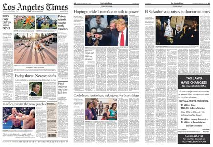 Los Angeles Times – February 27, 2021