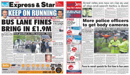 Express and Star City Edition – April 25, 2018