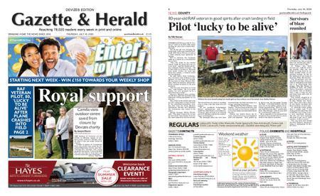 Gazette & Herald – July 16, 2020