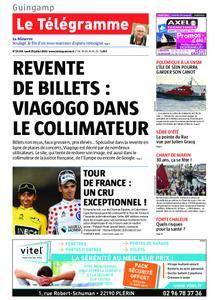 Le Télégramme Guingamp – 29 juillet 2019