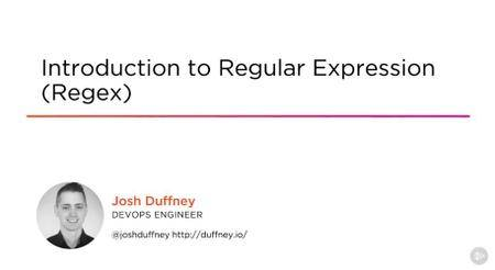 Introduction to Regular Expression (Regex)