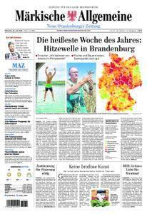 Neue Oranienburger Zeitung - 25. Juli 2018
