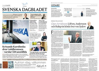Svenska Dagbladet – 15 maj 2019