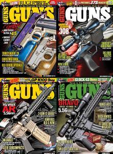 Guns Magazine 2016 Full Year Collection