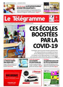 Le Télégramme Landerneau - Lesneven – 19 septembre 2020