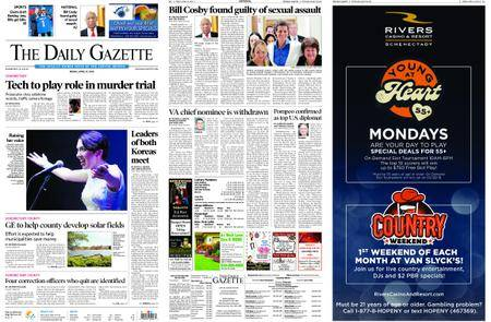 The Daily Gazette – April 27, 2018