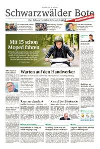 Schwarzwälder Bote Blumberg - 16. Mai 2019