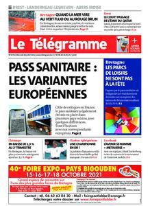 Le Télégramme Brest Abers Iroise – 28 juillet 2021