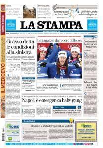 La Stampa Imperia e Sanremo - 15 Gennaio 2018