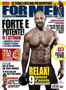 For Men Magazine - Marzo 2016