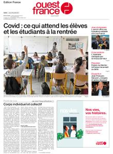 Ouest-France Édition France – 29 juillet 2021