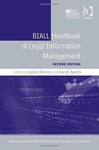 BIALL Handbook of Legal Information Management, 2 edition