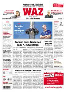 WAZ Westdeutsche Allgemeine Zeitung Oberhausen-Sterkrade - 16. August 2018