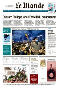 Le Monde du Mercredi 12 Juin 2019